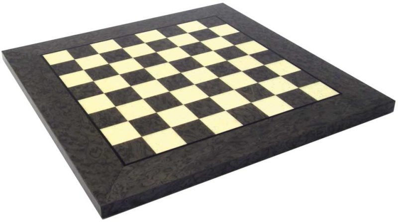 Grey and White Maple Chess Board
